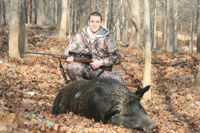 Russian Wild Boar Hunting in Missouri