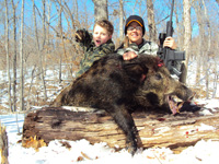 Russian Wild Boar Hunt at High Adventure Ranch
