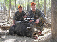 Russian Wild Boar Hunts